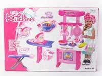 Kitchen Set W/L_M & Electric Iron