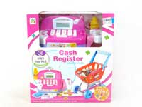 Cash Register W/L & Shopping Car