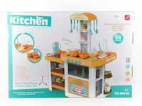 Kitchen Set W/L_S toys