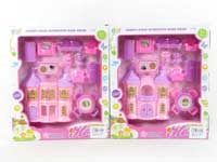 Castle Toys & Furniture Set(2S)