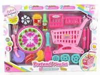 Shopping Car & Cake Set