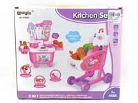 Kitchen Set W/L_M & Shopping Car W/L_M