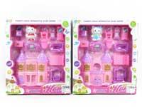 Castle Toys & Furniture Set(2S)