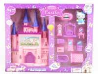 Castle Toys W/L_M & Furniture Set(2S)