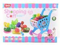 Shopping Car & Fruit Set(2C)