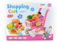 Shopping Car & Vegetable Set(2C)