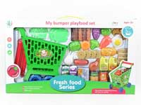 Shopping Car & Food Set