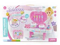 Kitchen Set & Shopping Car & Beauty Collection Delight