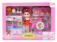 Cabinet Combination Set & Doll