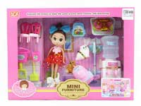 Cleanness Tool Set & Doll