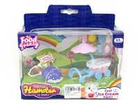 Hamster Icecream Car