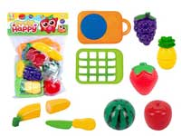 Cut Fruit, plastic fruit set, plastic toy, cooking toy set