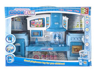 Cabinet Combination With Light Music, cupboard toy, kitchen toy set