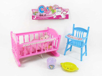 Bed & 5inch Doll(3S) toys