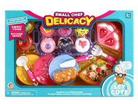 Cake Set & Pizza & Bread toys
