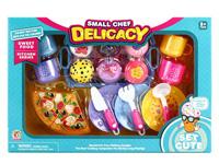Cake Set & Pizza toys