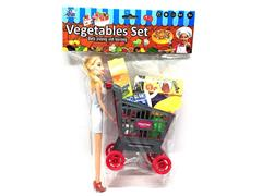 Barbie Shopping Cart toys