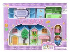 Villa Set W/L(2C) toys