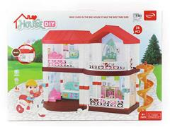 Villa Set W/M toys