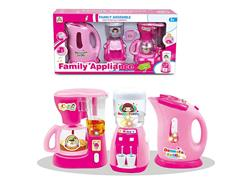 B/O Water Bottle & Water Dispenser & Coffee Maker toys
