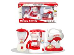 B/O Syrup Juicer & Coffee Maker & Blender toys