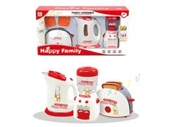 Electric Bread Machine & Water Bottle & Water Dispenser toys