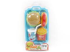 Western Style Hamburger Set toys