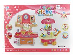 Kitchen Set W/L_S & Ice Cream Car