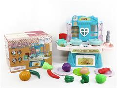 Water Kitchen Set W/L_M(2C) toys