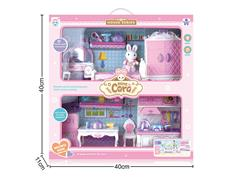 Kitchen Set & Bedroom Set W/L_M toys