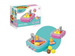 Wash Vegetable Basin With Water(2C) toys