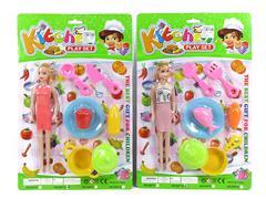 Kitchen Set & Doll(2S)