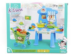 Kitchen Set & Shopping Car