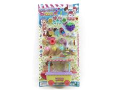 Candy Cart & 3.5inch Doll