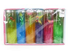 20cm Crystal Mud(6in1) toys