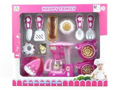 B/O Coffee Maker Set W/L_M toys
