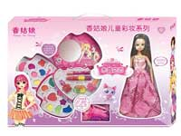 Cosmetics Set & Doll