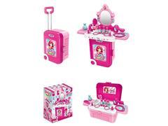 3in1 Dresser Set W/L_S toys