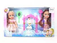 6inch Doll Set(2in1)