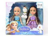 6inch Doll Set(2in1)