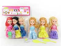 6.5inch Doll Set(3in1)