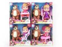 6inch Doll Set(4S)