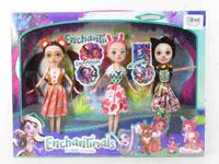 9inch Doll(3in1)