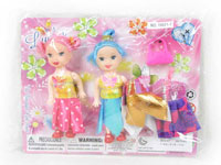 3inch Doll Set(2in1)
