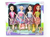 11.5inch Doll Set(4in1)