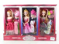 11inch Doll Set(6in1)