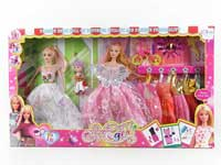 11.5inch Doll Set(3in1)