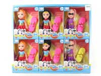 6inch Doll Set(6in1)