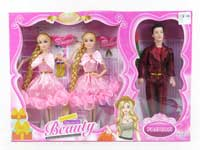 11.5inch Doll Set(3in1)