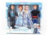 11inch Doll Set(4PCS)